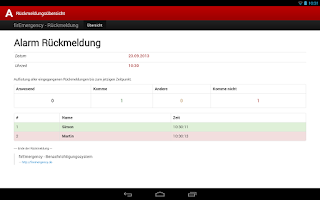 Screenshot of aPager