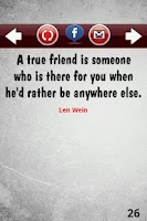 Screenshot of Friendship Quotes