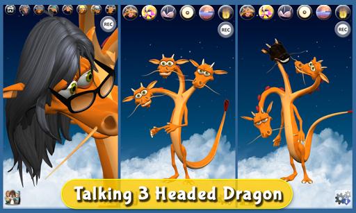 Talking 3 Headed Dragon Deluxe