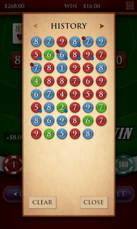Baccarat Royale - screenshot