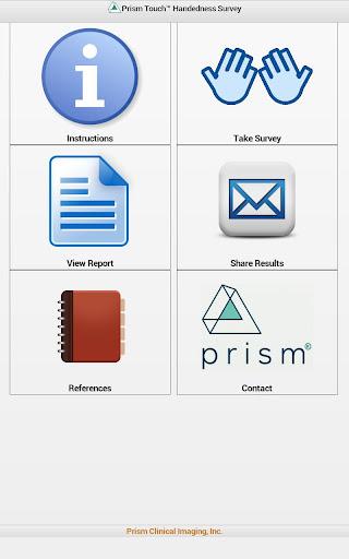 Prism Touch Handedness Survey