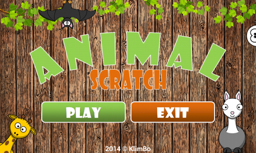 Kids Animal Scratch