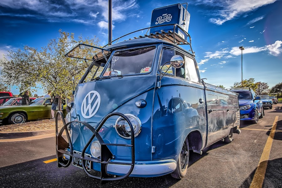 VW Type 2 by Ron Meyers - Transportation Automobiles