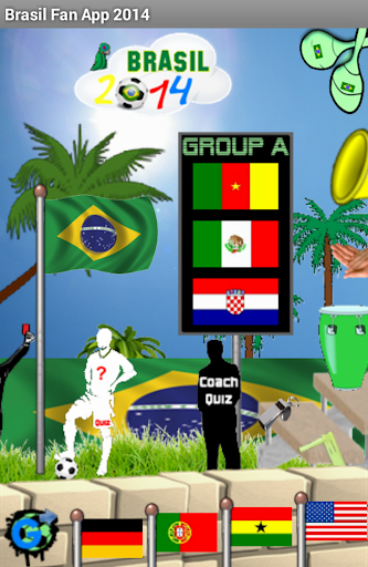 WM 2014 Quiz Brasilien Fan App