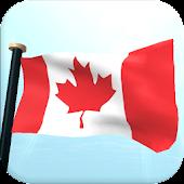Canada Flag 3D Live Wallpaper