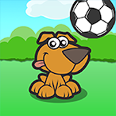 Dog Bouncing Ball