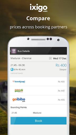 bus volvo ticket booking india