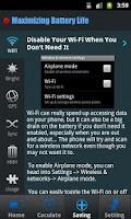 Screenshot of Battery Monitor