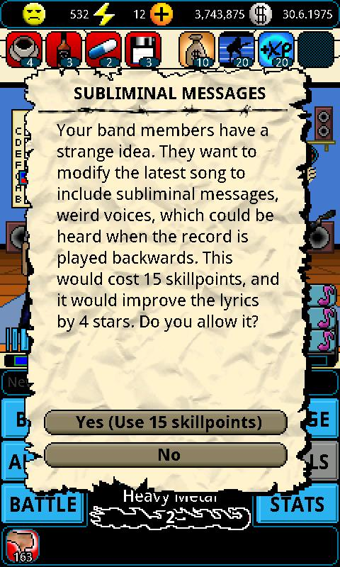 A Story of a Band - screenshot