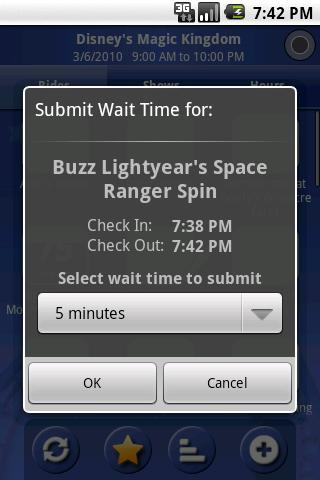 Ride Hopper Park Wait Times - screenshot