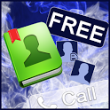 GO Contact Blue Smoke Theme icon