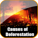 Causes Of Deforestation logo