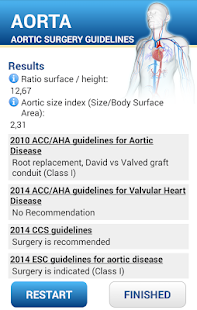 Aortic surgery guidelines- screenshot thumbnail