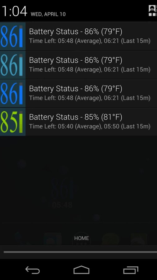 GSam Theme - Razr Eclipse - screenshot