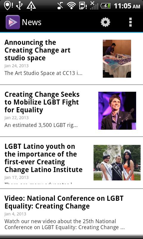 Creating Change - screenshot