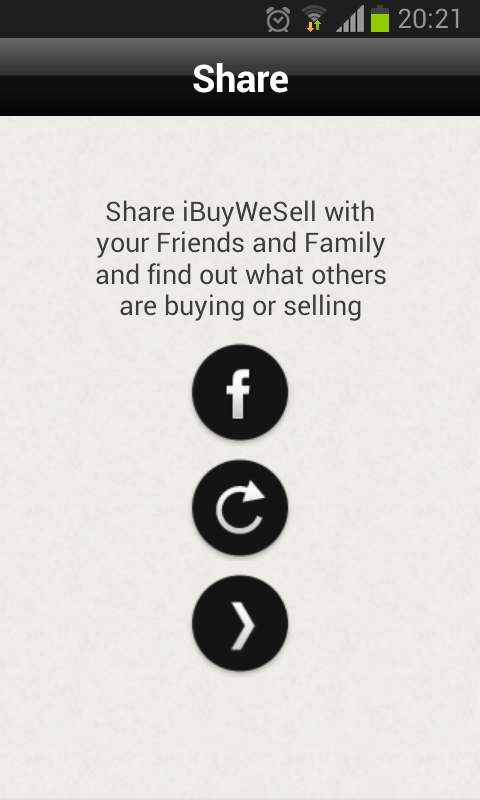 iBuyWeSell social classifieds - screenshot