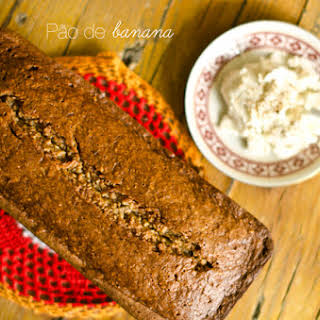 Banana Bread with Butter.