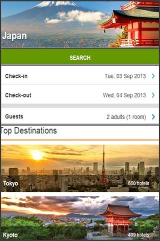 JAPAN HOTEL BOOKING BEST PRICE - screenshot