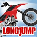 long jump biker logo