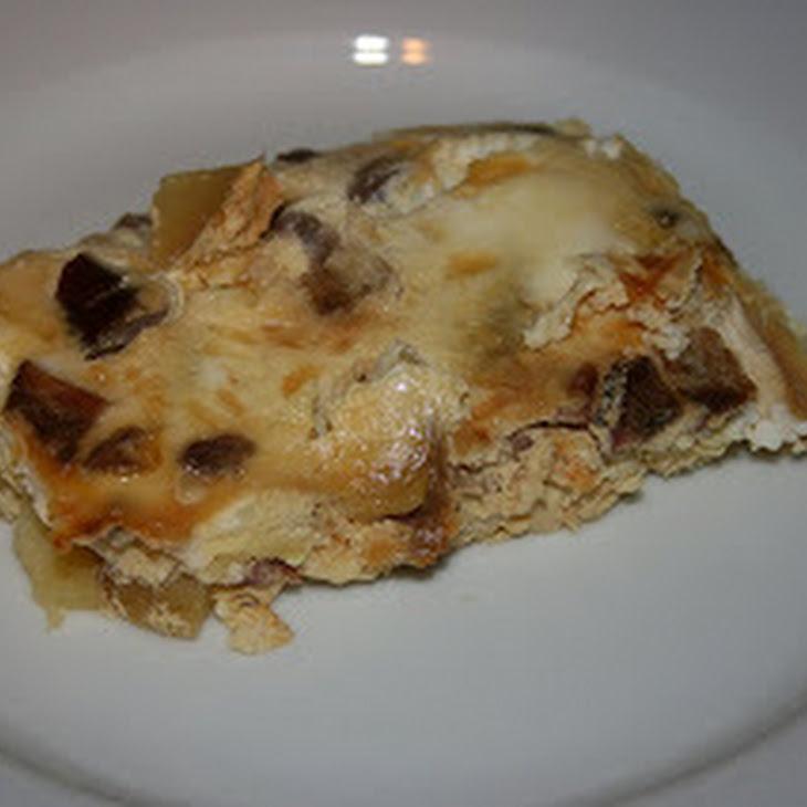 Overnight Egg, Cheese and Sausage CrockPot Casserole Recipe