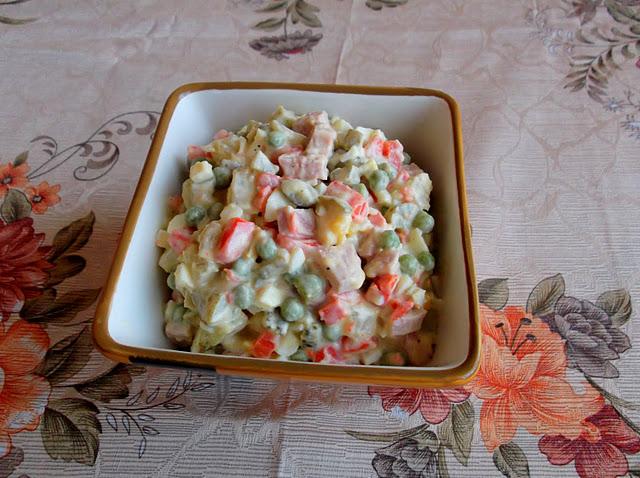 Russian Salad Olivier Recipe