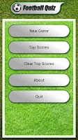 Screenshot of Football Players Quiz