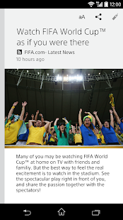 News by Sony's Socialife News - screenshot thumbnail