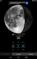 Screenshot of Moon Phase Calculator Free