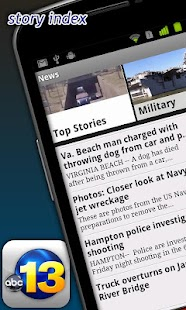 WVEC 13News - screenshot thumbnail