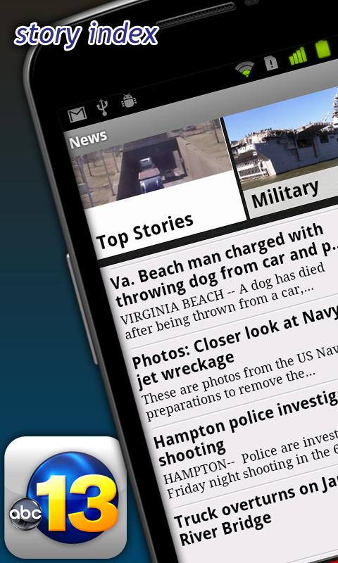 WVEC 13News - screenshot
