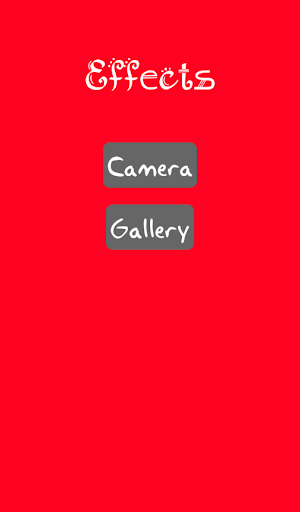 Camera Effects - Photo Studio