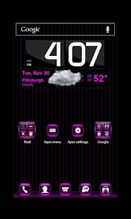 Kosmic Theme Apex Launcher - screenshot thumbnail