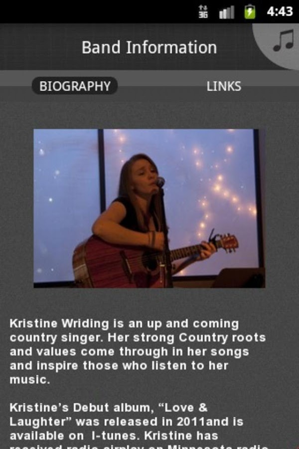 Kristine Wriding - screenshot