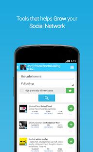 Unfollowers, Twitter Instagram - screenshot thumbnail