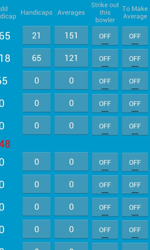 Bowling Speculator - screenshot