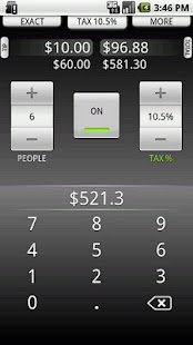 Tip Calculator by TradeFields - screenshot thumbnail