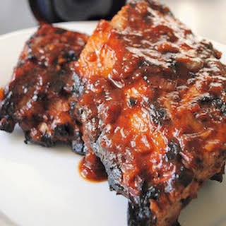 Appetizing and Wonderful (A & W) Root Beer Ribs.