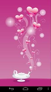 粉紅色的壁紙