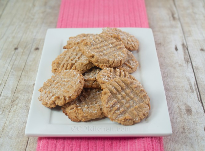 Low-Carb Peanut Butter Cookies Recipe