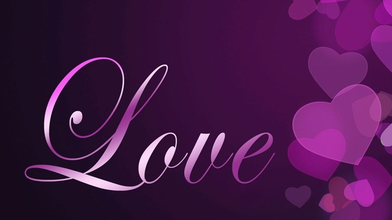 Purple And Black Hearts Wallpaper: Purple Hearts Live Wallpaper