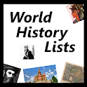 World History Lists #1