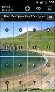 Geser Slide Puzzle - screenshot thumbnail