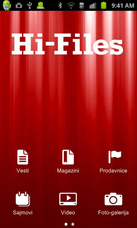 Hi-Files - screenshot