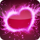 Lovely Hearts Free LWP icon