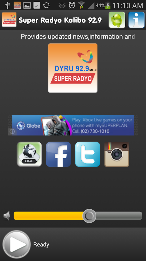 Super Radyo Kalibo 92.9 Mhz - screenshot