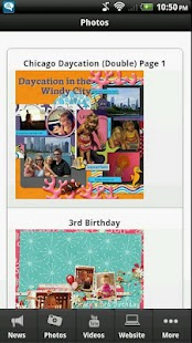 Scrapbooking Junkie - screenshot thumbnail