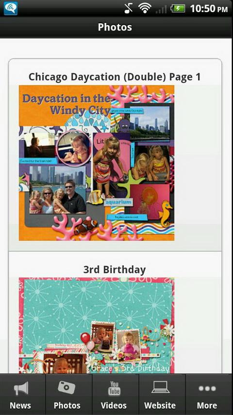 Scrapbooking Junkie - screenshot