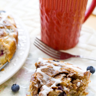 Apple Blueberry Coffee Cake