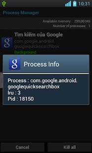 Clean Process, Manager Process - screenshot thumbnail