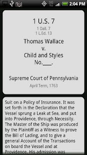 US Supreme Court Cases - screenshot thumbnail
